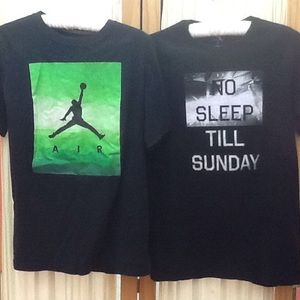 2 Tees Nike & Express Graphic Tees
